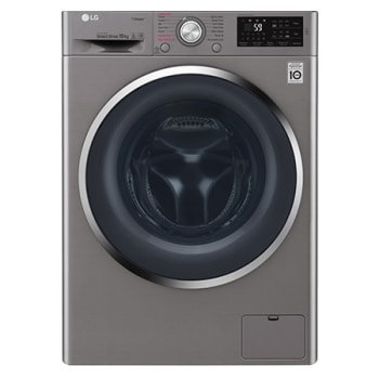 LG Steam™ F4J6JY2S 10Kg 1400 Spin Washing Machine - Graphite1