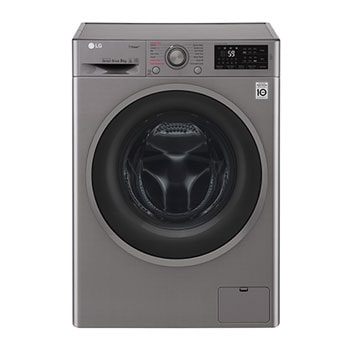 LG Steam™ F4J6VY8S 9Kg 1400 Spin Washing Machine - Graphite1
