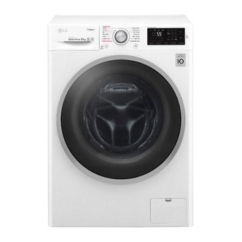 LG Steam™ F4J6TY1W 8Kg 1400 Spin Washing Machine - White1