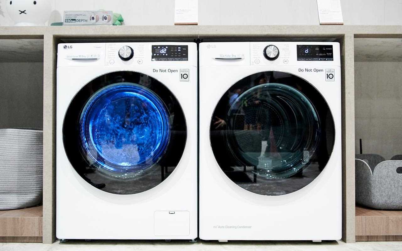 The LG AI Washer and Dryer were on show at IFA 2019 | More at LG MAGAZINE