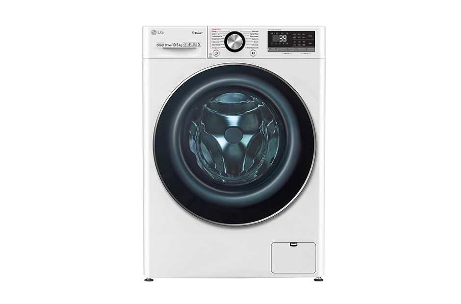 A front shot of Washing Machine with AI DD™ and TurboWash™ technology