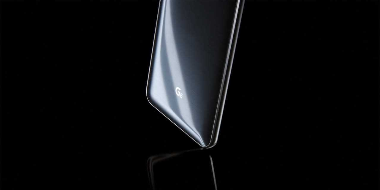 A 3d rendered image of new lg g6 smartphone