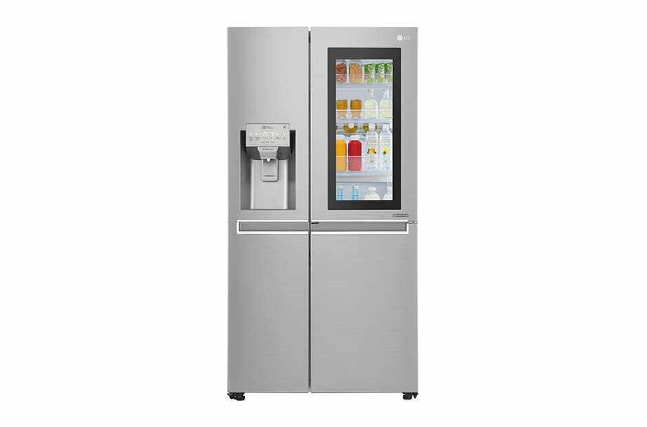 Lg Instaview Door In Door Refrigerator Knock Twice See