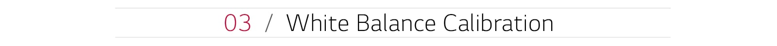LG SuperSign White Balance