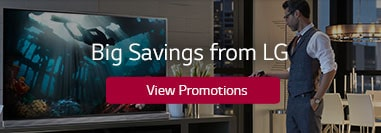 Find Big Savings and Latest Deals on LG Electronics Products