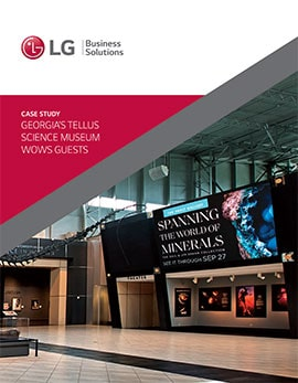 Case Study • Georgia's Tellus Science Museum Wows Guests