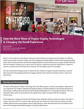 Article  How the Next Wave of Digital Display Technologies Is Changing the Retail Experience
