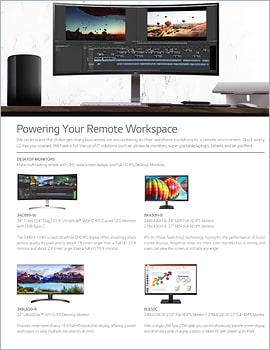 One Page  Powering Your Remote Workspace