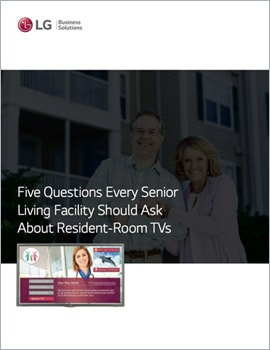E-Book • 5 Questions Every Senior Living Facility Should Ask About Resident-Room TVs
