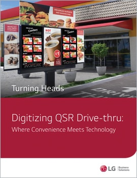 eBook •  Digitizing the QSR Drive-thru: Where Convenience Meets Technology