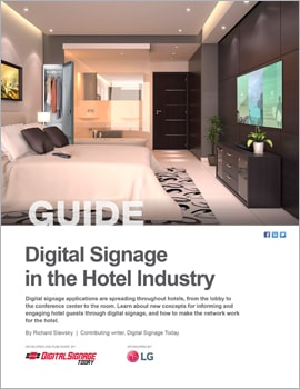 Thumb Digital Signage in the Hotel
