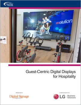 White Paper • Guest Centric Digital Displays for Hospitality