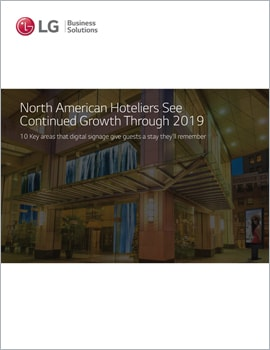 E-Book • North American Hoteliers See Continued Growth Through 2019