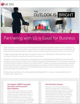 Brochure •  Partnering with LG is Good for Business