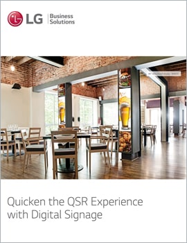 E-Book • Quicken the QSR Experience with Digital Signage
