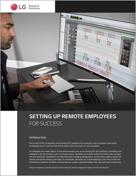 Whitepaper  Setting Up Remote Employees for Success