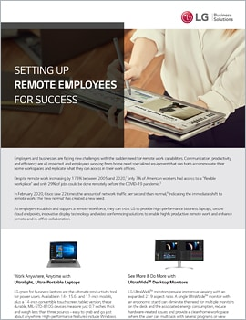 One Page  Setting Up Remote Employees for Success
