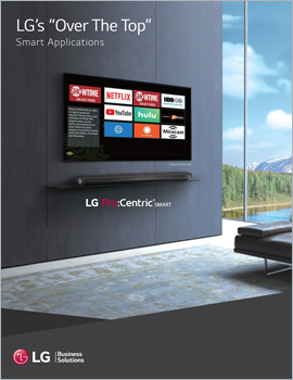 Brochure • LG's Over the Top Smart Applications