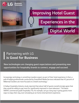 Whitepaper •  Improving Hotel Guest Experiences in the Digital World