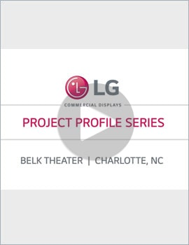 Case Study Video • Belk Theater, Charlotte, NC