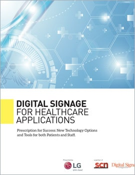 White Paper • Digital Signage for Healthcare Applications