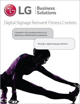 Animated Infographic • Digital Signs Reinvent Fitness Centers