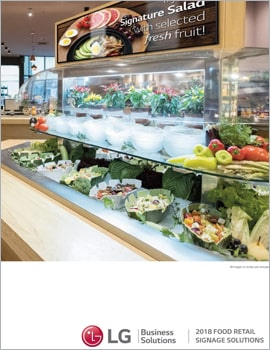 Brochure • Food Retail, Engage Customers Like Never Before