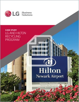 Case Study • LG and Hilton Recycling Program