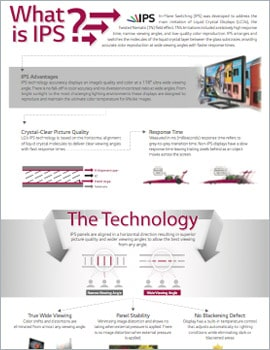 Infographic • IPS Advantage