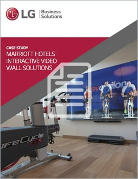 Case Study • Marriott Hotels Interactive Video Wall Solutions
