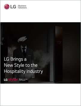 E-Book • LG Brings a New Style to the Hospitality Industry