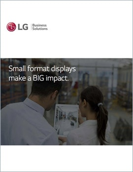 E-Book • Small Format Displays Make a BIG Impact