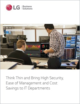 E-Book • Think Thin and Bring High Security, Ease of Management and Cost Savings to IT Departments