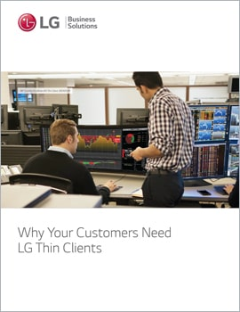 E-Book • Why Your Customers Need LG Thin Clients