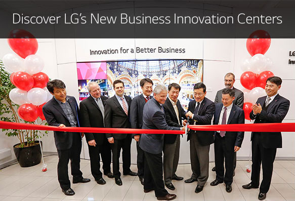 Discovef LG's New Business Innovation Centers