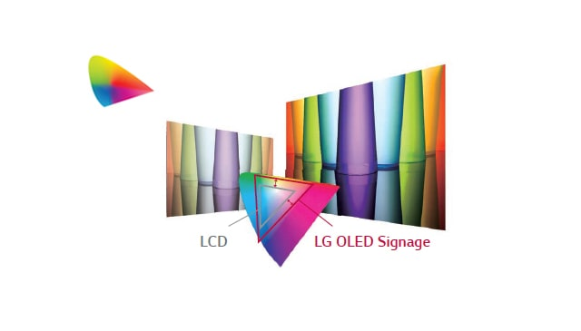 LG 55EJ5C-B 55 Wallpaper OLED Digital Signage Display- LG | Enter Computers