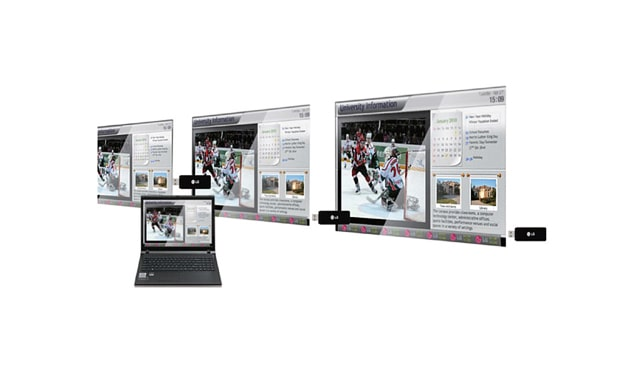 Deliver Your Messages While Broadcasting Live Channels Simultaneously - LG | Enter Computers