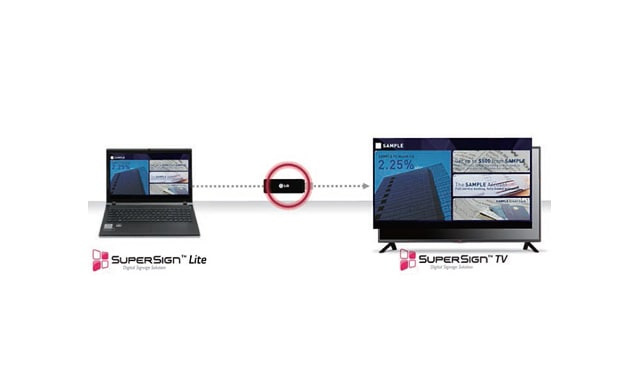 How to Use SuperSign TV - Option 1 -- LG | Enter Computers