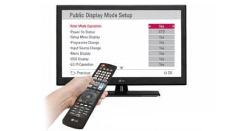 32'' class (31 65'' diagonal) LX330C Direct LED Commercial Lite Integrated  HDTV