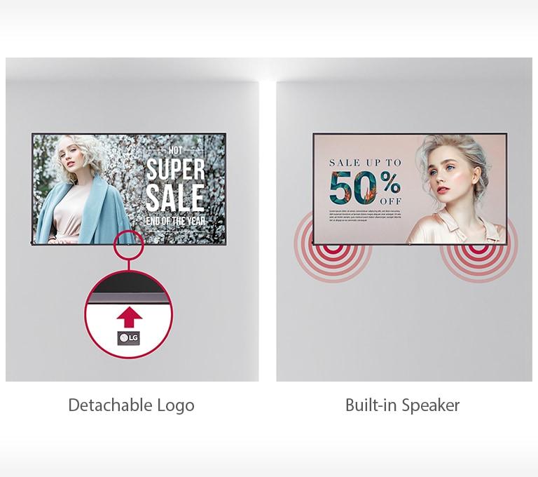 Detachable Logo & Built-in Speaker2