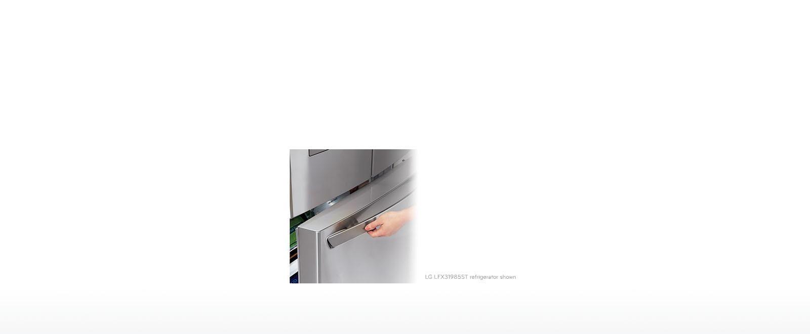Lg Lfc22770st 22 Cu Ft French Door Refrigerator Lg