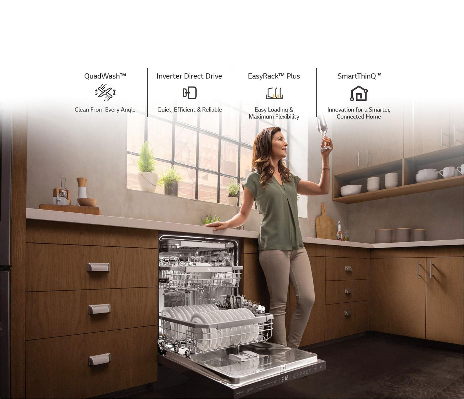 Four Reasons to Buy an LG Dishwasher