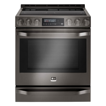 LG STUDIO 6.3 cu. ft. Smart wi-fi Enabled Electric Slide-in Range with ProBake Convection®1