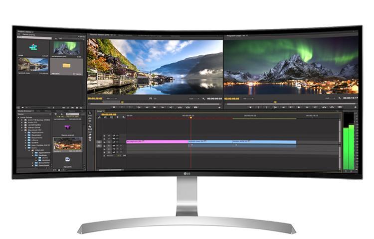 Ultra Hd 4k Monitor 34 Class 21 9 Ultrawide 174 Wqhd Ips