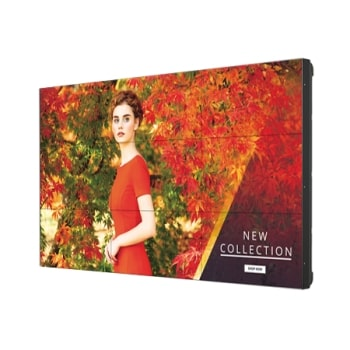 VH7E Series 0.9mm Bezel Video Wall Display TV with SoC & webOS Platform1