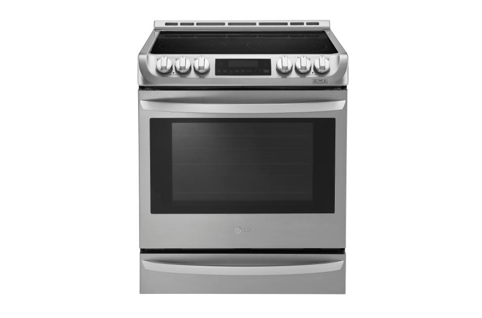 electric range 48 inch lg lse4613st lse4613st electric slidein range with convection usa