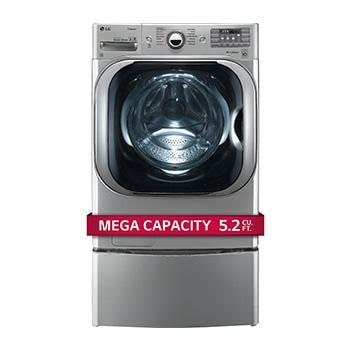 5.2 cu. ft. Mega Capacity TurboWash® Washer with Steam Technology1