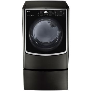 7.4 cu.ft. Ultra Large Capacity TurboSteam™ Electric Dryer w/ On-Door Control Panel1
