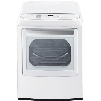 7.3 cu. ft. Large Smart wi-fi Enabled Front Control Gas Dryer with EasyLoad™ Door 1
