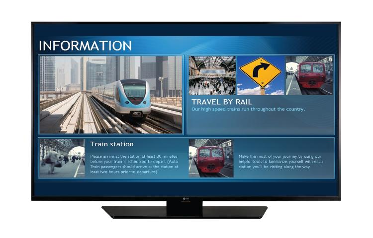 Lg Commercial Display Lg 65lx540s Lg Usa